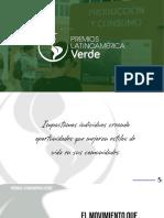 Premios Latinoamérica Verde. Presentación