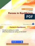 2.8 Forces in Equilibrium (2)