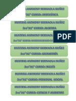 Ejercicios de Excel 2016 - Diplomado en Ofimática 01 - MG. ING. GILMER MATOS VILA