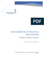 Aplicaciones de la física en la arquitectura