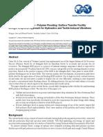 SPE facilidades generalizadas de iny de polimero