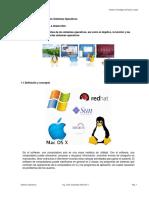 Sistemas Operativos Unidad I