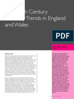 Twentieth Century Mortality Trends in England and Wales