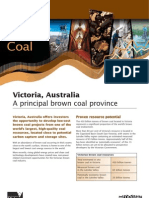 Victorian Brown Coal Fact Sheet