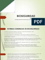Bioseguridad, Seguridad Del Paciente