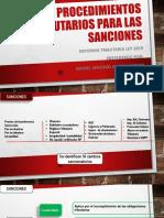 Procedimientos Tributarios Para Las Sanciones