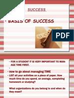 Basics of Success