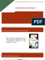Las Escalas de Inteligencia Wechsler