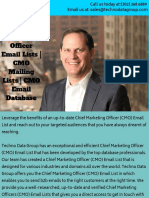 Chief Marketing Officer Email Lists _ CMO Mailing Lists _ CMO Email Database