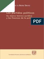 Los partidos políticos. Su marco teórico-jurídico y las finanzas de la política - Francisco José de Andrea Sánchez.pdf