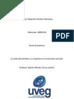 Pacheco_Martin_La Caída Del Petróleo_ Foro y Entrega