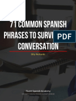 71 Common Spanish Phrases to Survive Any Conversation