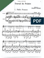 Pablo Picasso - Poulenc