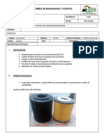 0186 Informe de Mantenimiento PM4 Camioneta Mazda BT-50 Livigui.