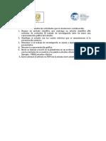 Actividades del diseseño y clasificación de estudios clínicos