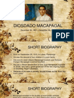 DIOSDADO MACAPAGAL PowerPoint