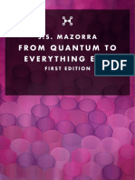 Johan Sebastian Mazorra - From Quantum to Everything Else (PREVIEW)