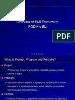 Lecture 1-PMI Framework