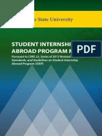 Student Internship Abroad Program Manual Final Version 1