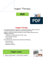 Lesson 5- Oxygen Therapy