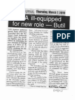 Peoples Journal, Mar. 7, 2019, NFA ill-equipped for new role - Butil.pdf