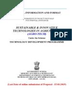 TDP- Agro Tech Format 2019