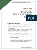 Usulan Teknis - BAB III Metode Pelaksaan Kerja.doc