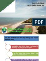 Paparan D3TLH Kab Bulungan Di KLHK - 2009 & 2016
