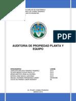 Original Propiedad Planta y Equipo