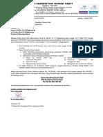 1. Surat Informasi Jadwal Survei Verifikasi Progsus Ke-1 SNARS Edisi 1 Rumkit Tk. IV Singkawang