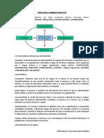 UNIDAD  EL PROCESO Y PLANIFICACION DE LA ADMINISTRACION.doc