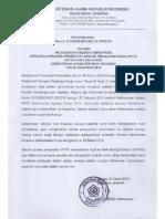 Pengumuman Seleksi Administrasi p3k Kemenag
