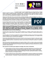 Manifiesto 8M 2019