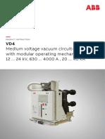 ABB Vaccum CB  VD4 12kV 24KV  Brochure.pdf