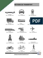Moyen de Transport