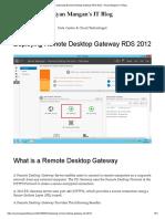 Deploying Remote Desktop Gateway RDS 2012 – Ryan Mangan's IT Blog