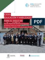 Educacion y Habilidades Para El Siglo Xxi Unesco Orealc 2018