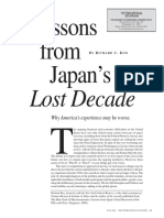 Lessons From Japans Lost Decade Koo