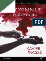 EXTRAIT du roman « L'Inconnue de l'équation » de Xavier Massé