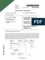 EP0631109A1 Passive image sensor navigation system