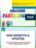 Gsis Claims & Privileges _hr Csc_ 031116