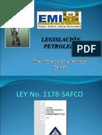 Ley SAFCO 1