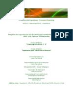 Proyecto de Capacitación en eLearning para el Personal Docente de la    UPEL-IPB