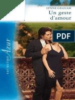 Un geste d'amour - Lynne Graham.pdf