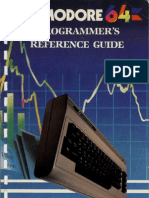 C64 Programmer's Reference Guide