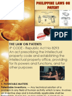 Philippine Laws on Patent