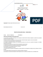 Projeto de  Educação Sexual 1A