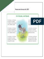 Poema a mi burro a mi burro