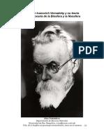 Vladimir Ivanovich Vernadsky y su teoría revolucionaria de la Biosfera y la Noosfera