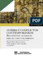 Miguel M. Benito, César A. Niño - Guerra y Conflictos contemporáneos. Reflexiones generales para el caso colombiano-Universidad Sergio Arboleda (2018).pdf